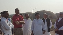 Dr Riaz Ahmed-Chairman TCP visited TCP